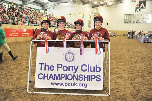 Ledbury Intermediate Girls win National Tetrathlon Championship